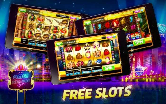 Play anytime, anywhere by installing free slots app