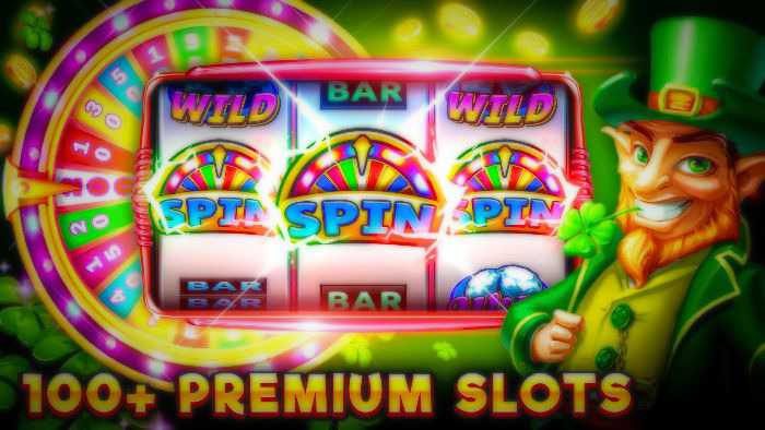 Playing the slots in casino